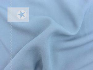 Viskose Twill uni einfarbig taubenblau