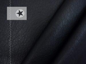 Kunstleder elastisch Lederimitat schwarz