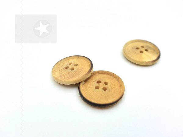 Holzknöpfe für Kinder rund 2,2 cm