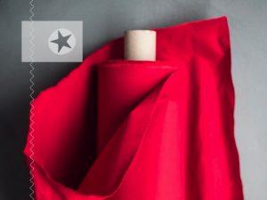 Dry Oilskin Baumwolle gewachst red