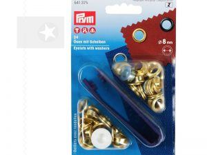 PRYM Ösen 8 mm gold