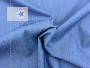 Leichter Blusen Jeansstoff jeansblau