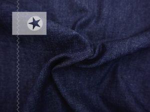 Leichter Jeansstoff uni dunkelblau