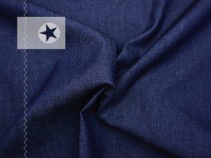 Leichter Blusen Jeansstoff dunkelblau