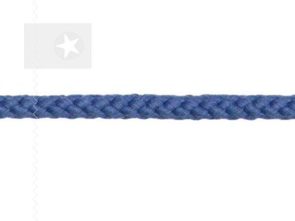 Kordel 8 mm Flechtkordel jeansblau