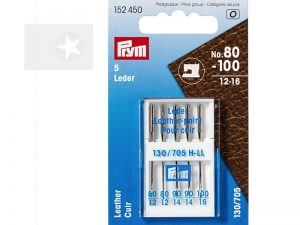 PRYM Schmetz Nähmaschinennadeln Leder 80-100