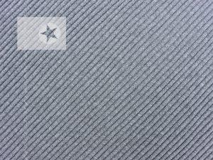 Grobstrick Bündchen grau meliert
