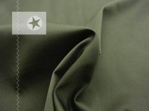 Silk Finish Hosenstoff elastisch olive