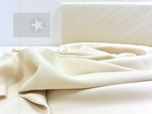 Tencel Stoff für Kleider und Blusen natur