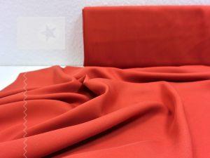 Tencel Stoff für Kleider und Blusen rost