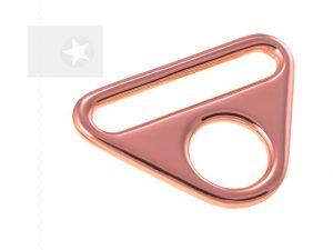 O-Ring mit Steg für Taschen 30 mm roségold 1 Stück