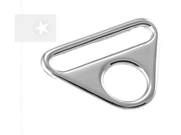 O-Ring mit Steg für Taschen 30 mm silber 1 Stück