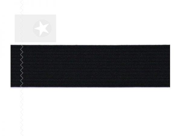 Gummiband breit schwarz 3 cm