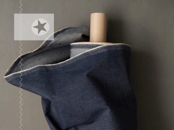 Dry Oilskin Denim jeansblau