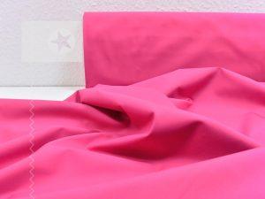 Baumwollstoff uni pink