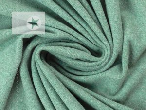 Feinstrick Stoff Bene dusty mint