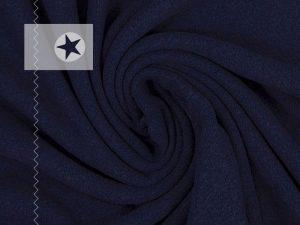 Feinstrick Stoff Bene dunkelblau