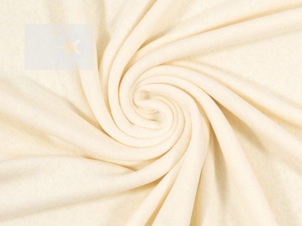 Feinstrick Stoff Bene cremeweiß
