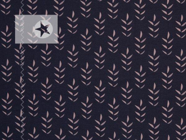 Twig by Cherry Picking Sweat Stoff dunkelblau