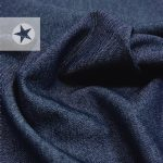 Robuster Jeans Stoff mit Elasthan navy