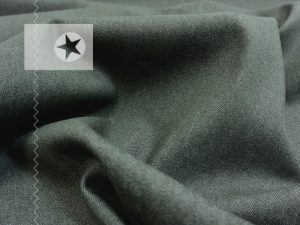 Robuster Jeans Stoff mit Elasthan khaki