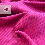 Breitcord elastisch Cord Stoff pink