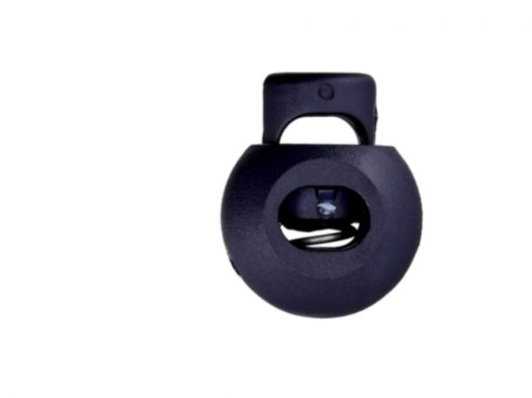 Kordelstopper Durchlass 8 mm dunkelblau