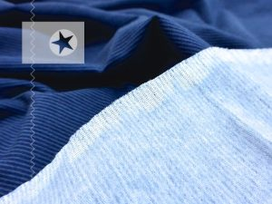 Soft Sweat Mini Stripes denimblue