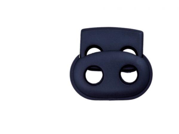 Kordelstopper Durchlass 5 mm dunkelblau
