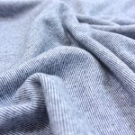 Soft Touch Interlock Mini Stripes navy