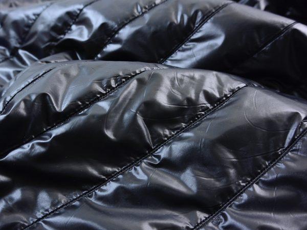 Steppstoff Silk Gloss almost black