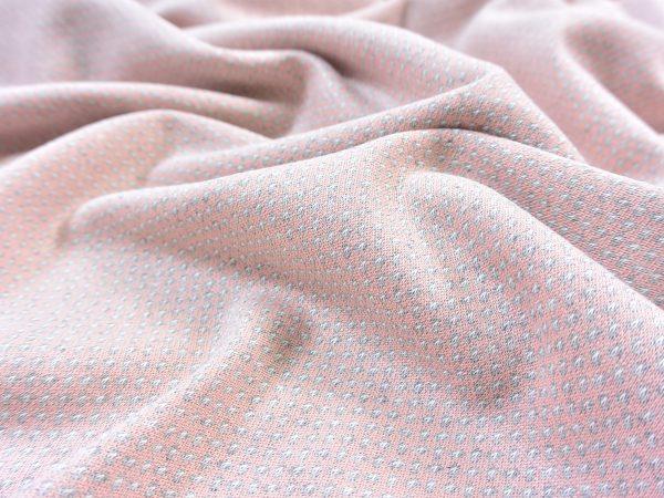 Jacquard Strick Speckle blush