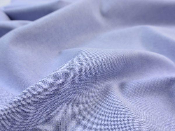Classic Oxford Hemdenstoff jeansblau