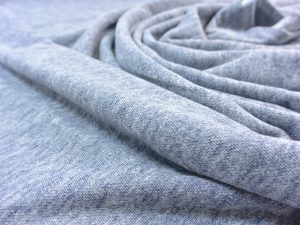 Organic Brushed Piqué navy