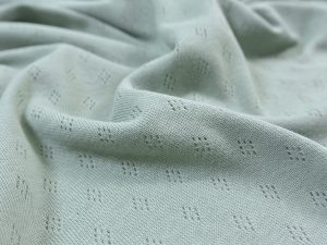 Pointoille Jersey dusty mint