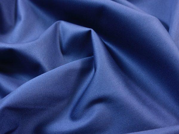 Silk Finish Hosenstoff elastisch denimblue