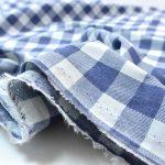 Soft Cotton Basic Check denimblue