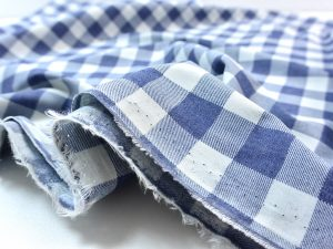Soft Cotton Basic Check denimblue