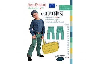 AnniNanni Papierschnittmuster Outdoorhose Kids