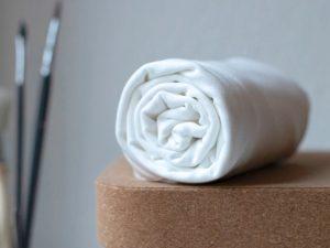 Meet Milk Tencel Stretch Jersey bright white