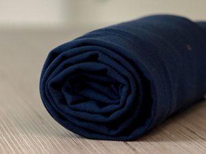 Meet Milk Basic Stretch Jersey mit TENCEL™ Fasern blueberry