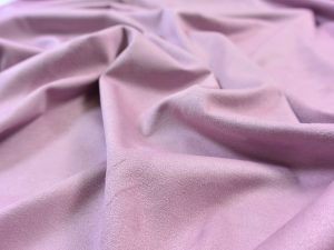 Fibremood Faux Stretch Velvet Leather violet