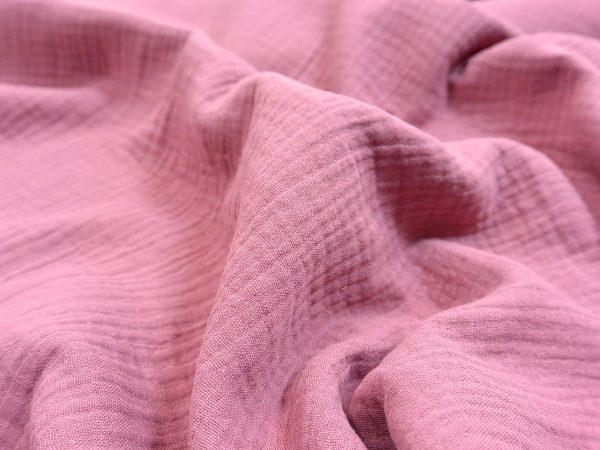 Musselin Stoff blush