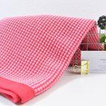 80 cm Honeycomb Knit by clarasstoffe strawberry shake
