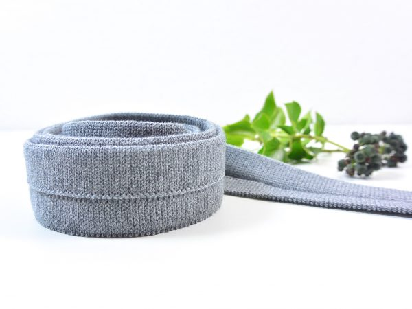 3 cm Cuff für Honeycomb Knit by clarasstoffe grey