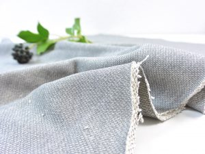 Baumwoll Stricksweat grau