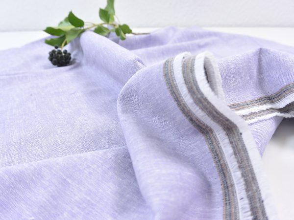 Leinen Baumwolle lavender