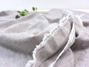 Leinen Baumwolle sand