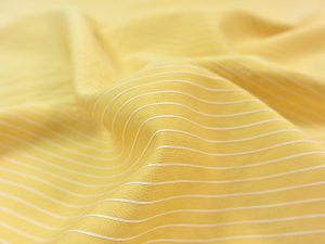 Fibremood Viskose Pin Stripe yellow