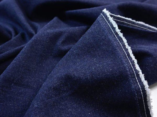 Stretch Jeans Stoff indigo blue